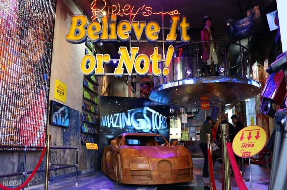Ripley's Believe It or Not: Amsterdam's Most Amazing Exhibition!