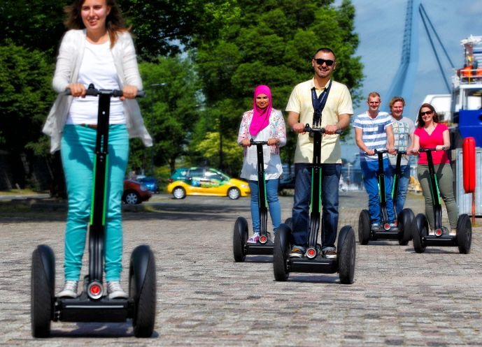 Guided Segway Tour of Rotterdam