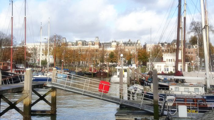 Rotterdam old city sightseeing tour for foreigners