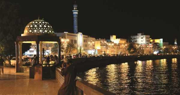 Muscat by Night With Dining at Al Angham Opera House Restaurant