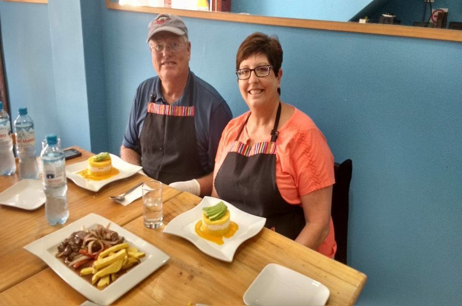 Lima Gastronomy Tour and Cooking Class