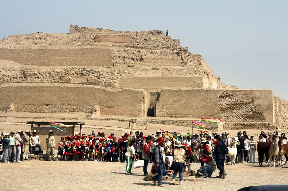Pachacamac Archaeological Center from Lima