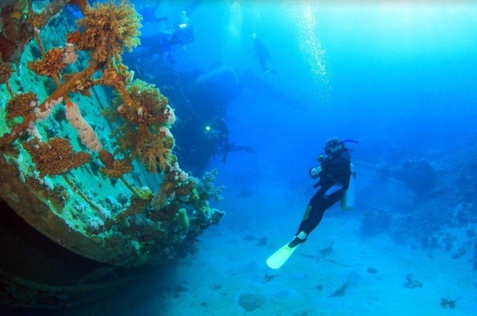 Coron Tour D – Reef and Wrecks