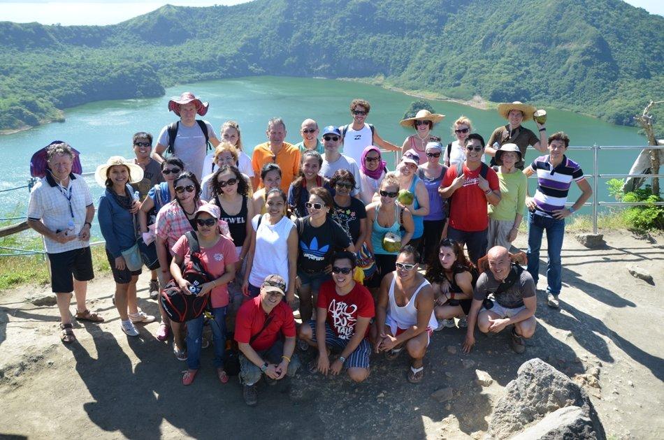Taal Volcano Trekking Tour from Manila
