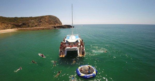Algarve 3 hour Catamaran Fun Cruise