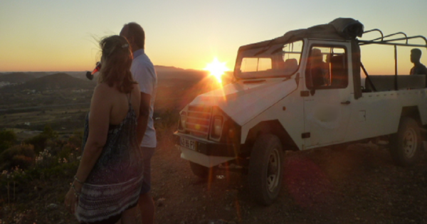 Algarve Sunset Jeep Safari Tour from Albufeira