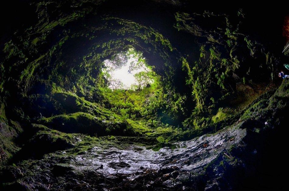 Caves Tour (Algar Do Carvão, Gruta Do Natal, Furnas Do Enxofre) from Azores