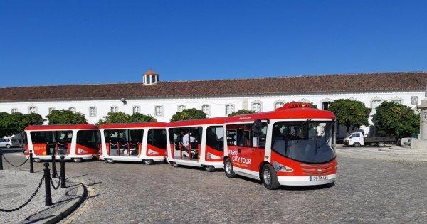 Faro: Hop On Hop Off City Tour by Tourist Train