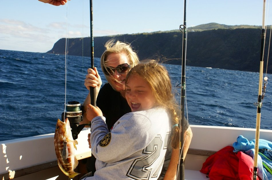 Land & Ocean (Fish for Your Own Lunch and Private Jeep Tour) in the Azores