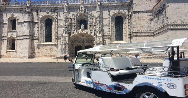 Experience Lisbon in 2 Hour TUK TUK Guided Tour | POTLUCK TOUR