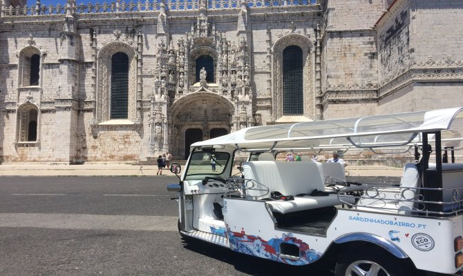 Experience Lisbon in 2 Hour TUK TUK Guided Tour | POTLUCK TOUR