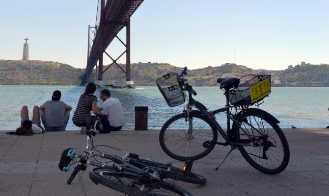 Lisbon Downtown, Tagus and Belém - Bike Tour