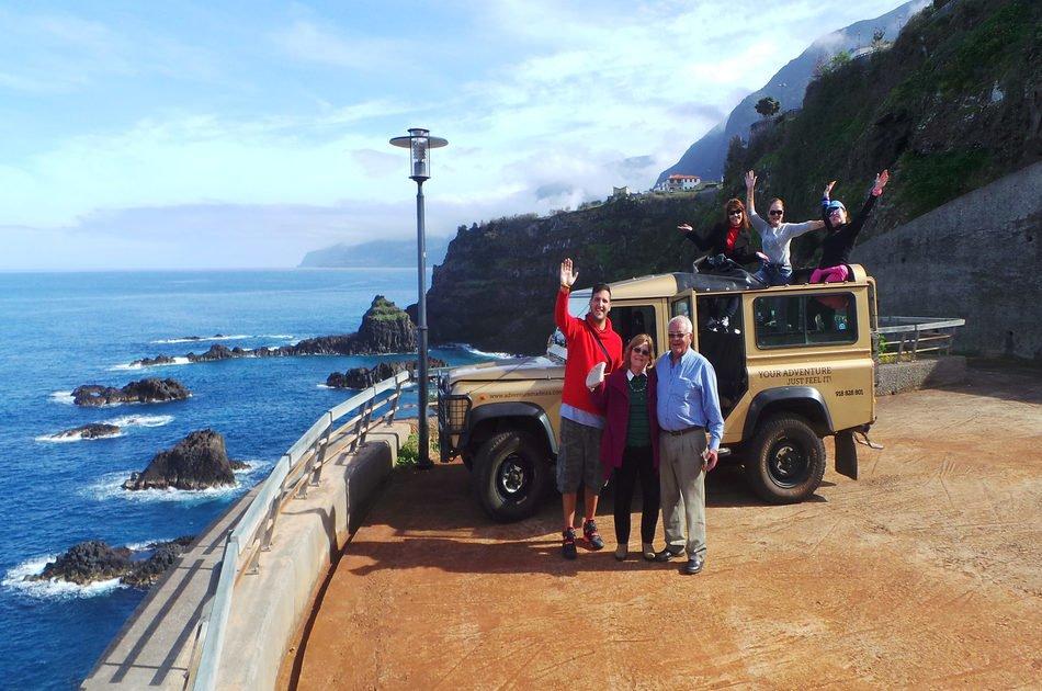 Porto Moniz Lava Pools & Skywalk in Open Roof 4x4 Jeep Tour