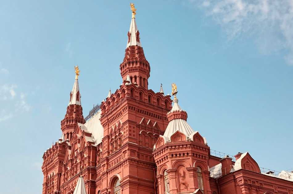 Red Square Private Tour by Car Including Sparrow Hills
