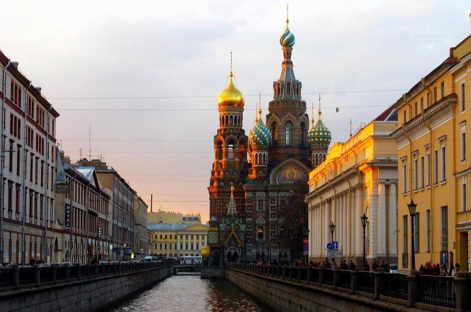 St. Petersburg 2 Day Visa Free Shore Tour