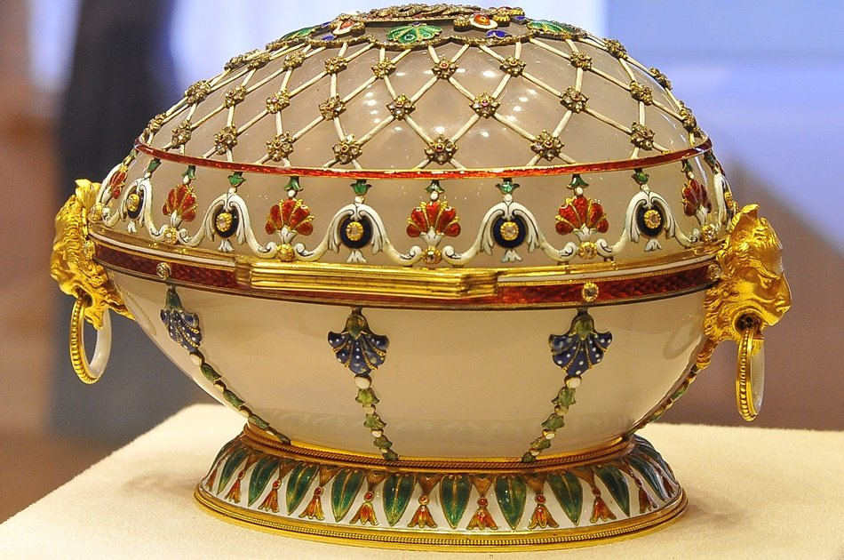 St Petersburg Faberge Museum Private Tour with Full Transfer