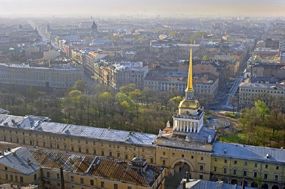 St. Petersburg Sightseeing Tour with Peter & Paul Fortress and the Spilled Blood Church