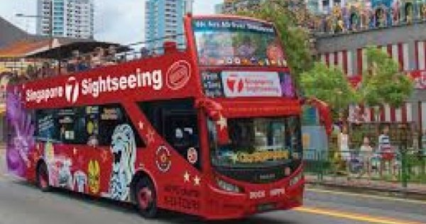 Singapore Sightseeing Bus Pass