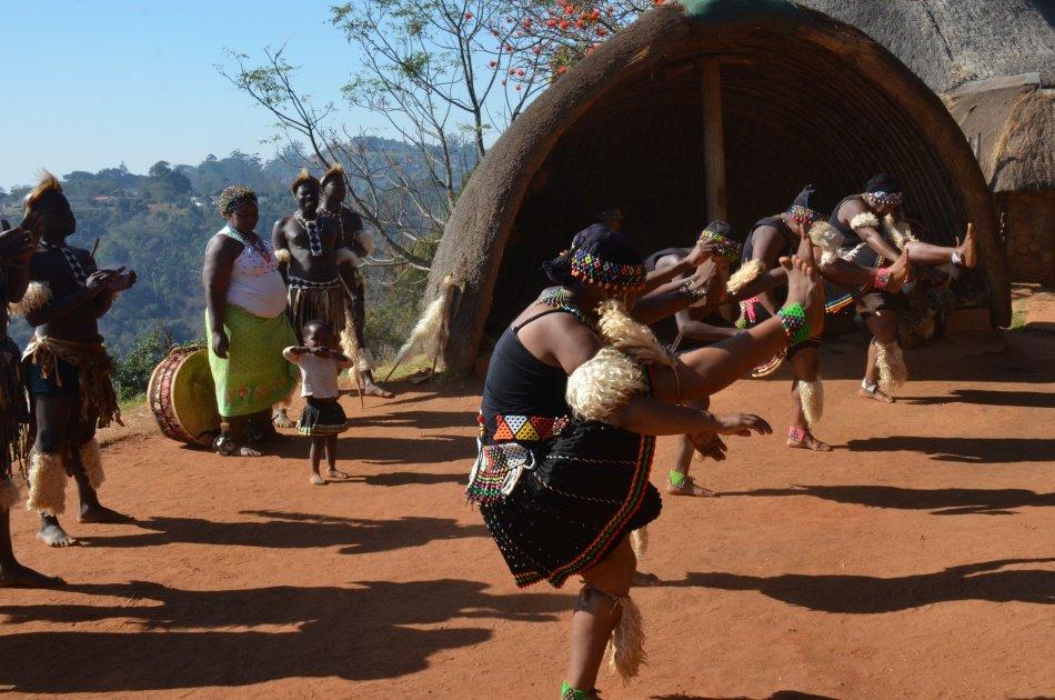 Exciting Day Tour of Durban Reptile Park & Phezulu Village