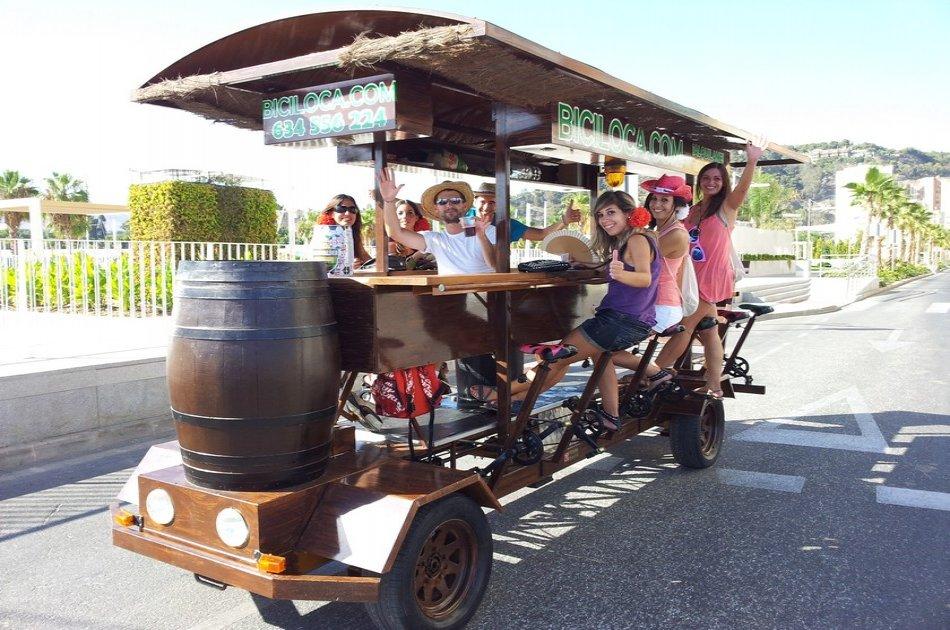 1 Hour Beer Bike Barcelona Tour