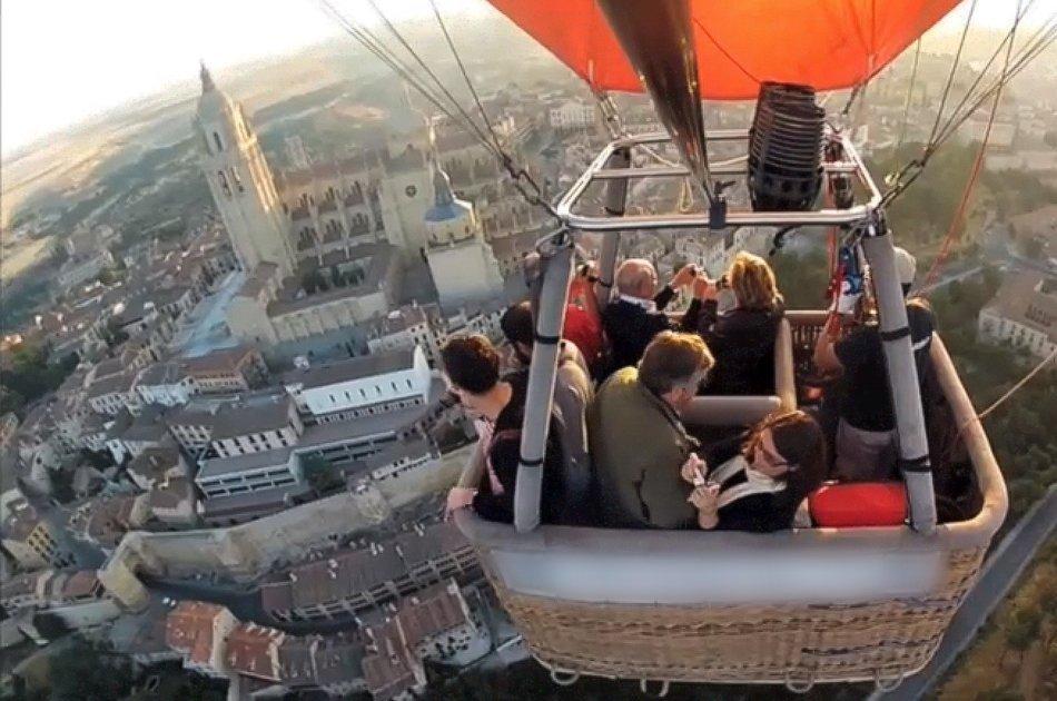 Balloon Ride over World Heritage City of Segovia