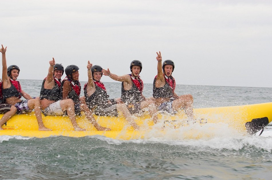 Barcelona Banana Boat Experience