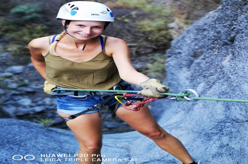 Canyoning  experience in Guía De Isora