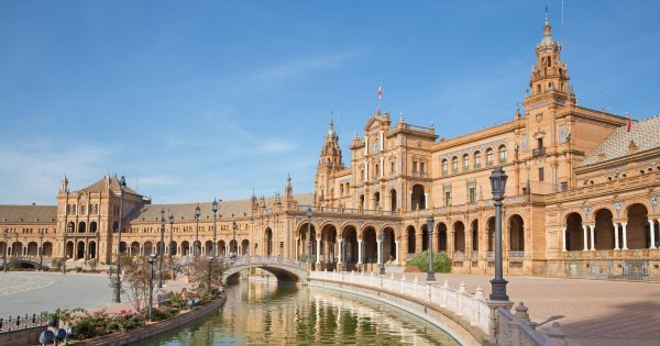 Guided Tour of Plaza De España of Seville