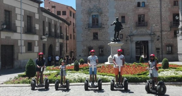 Madrid Exclusive Segway 3 Hour Private Tour