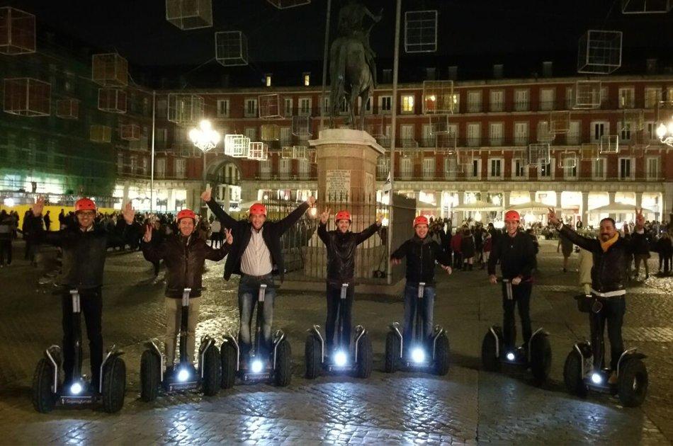 Madrid Exclusive Segway Night Tour 1.5hr