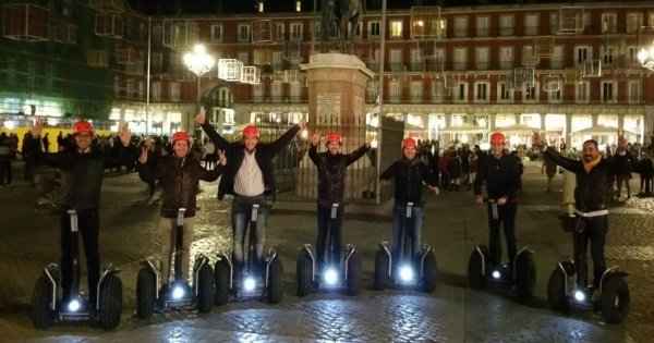 Madrid Exclusive Segway Night Tour 1.5hr