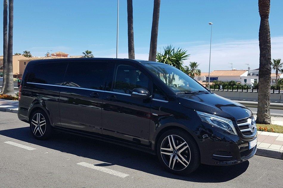 Malaga AGP Airport Arrivals Transfer to Marbella City