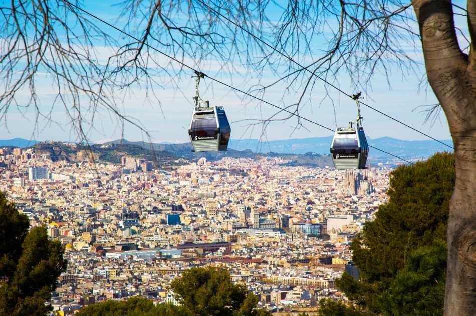 Panoramic Montjuic Private Walking Tour