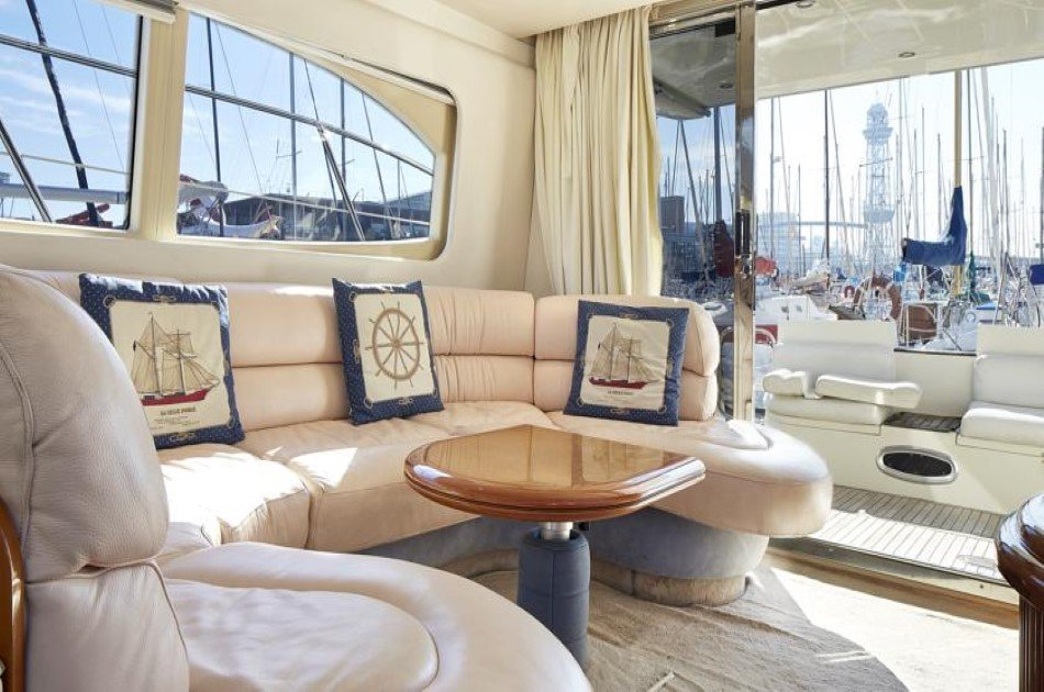 Private Motor Yacht Tour around Barcelona