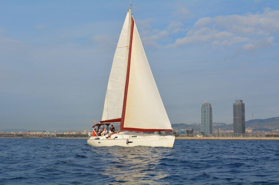 Private Sailboat Tour in Barcelona