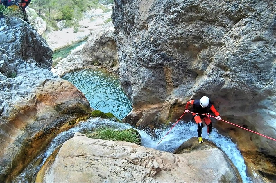 Rio Verde Canyoning Tour from Granada