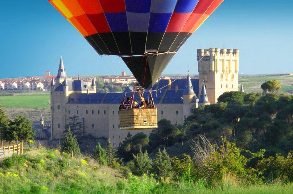 Segovia Balloon Ride from Madrid