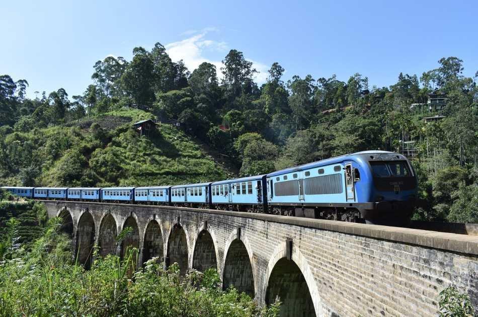 Nuwara Eliya From Kandy By Train