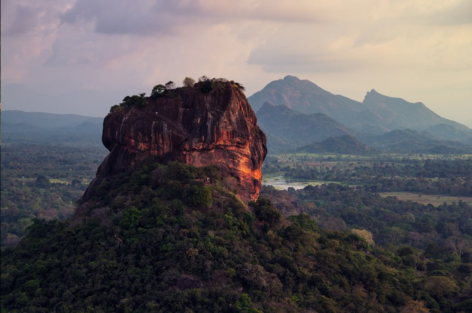 Sigiriya and Dambulla From Kandy