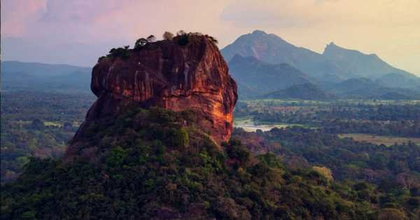 Sigiriya Rock and Dambulla Cave Full Day Tour from Colombo