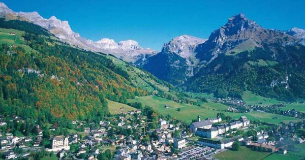 Engelberg - Typical Alpine Village