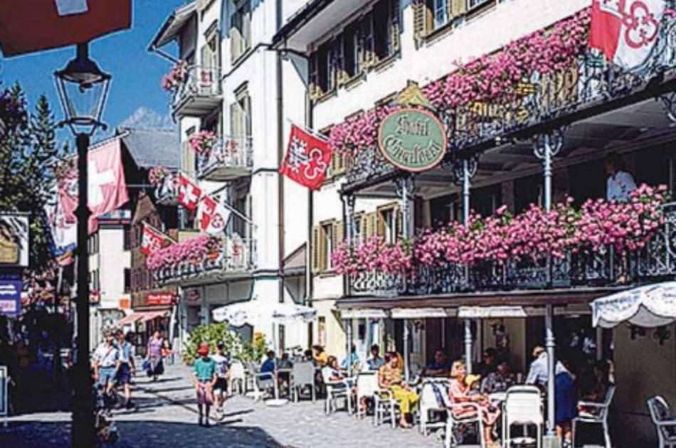 Engelberg - Typical Alpine Village