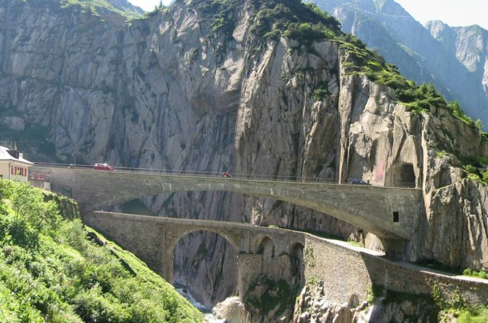 Into the Alps - Swiss Mountain Passes