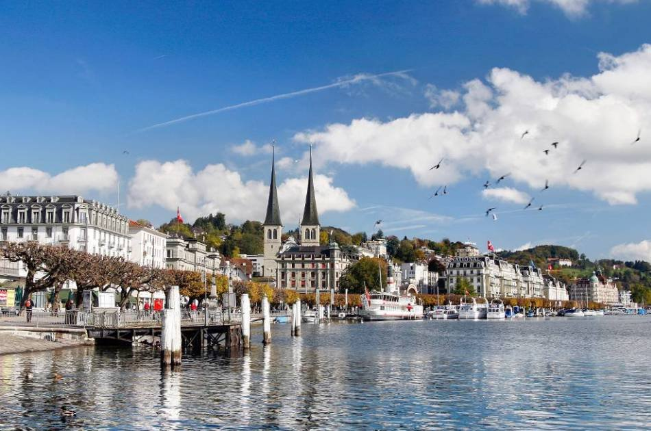 Lucerne with Yacht Cruise