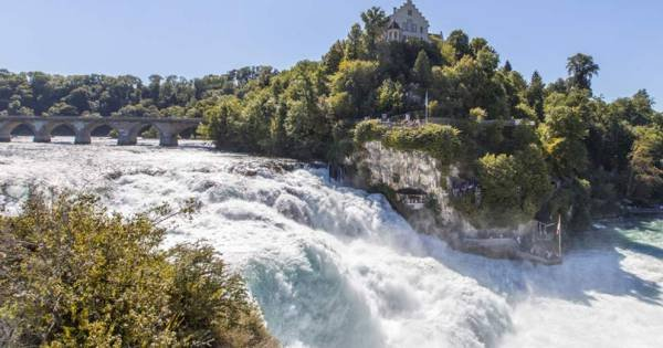 Rhine Falls - Europe`s biggest waterfalls