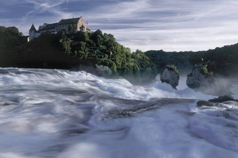 Rhine Falls - Europe`s biggest waterfalls
