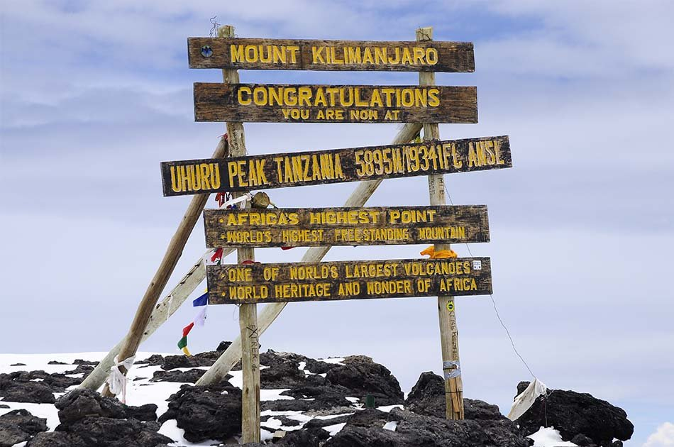 5 Days Mount Kilimanjaro Climbing - Marangu Trails
