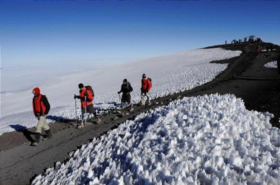 6 Days Kilimanjaro Trekking via Lemosho Route + 2 Nights Hotel Stay