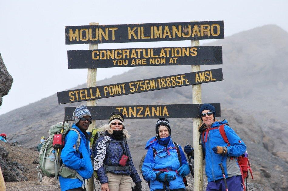 6 Days Kilimanjaro Trekking via Marangu Route + 2 Nights Hotel Stay