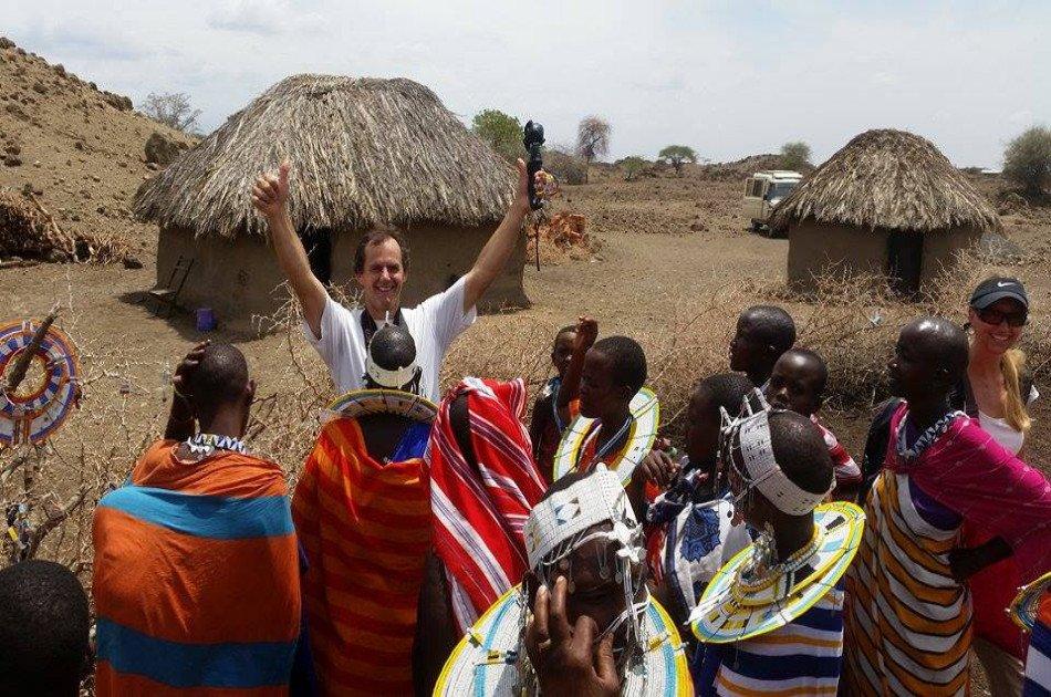 Kikuletwa Hotsprings and Visit a Real Maasai Village